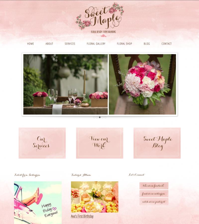 Sweet Maple Design – whole