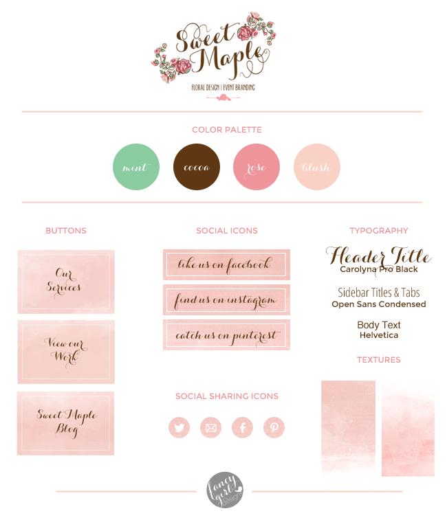 sweetmaple brand board