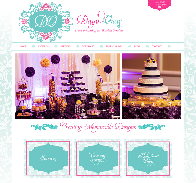 Dayo Onas – Event Planning & Design Services